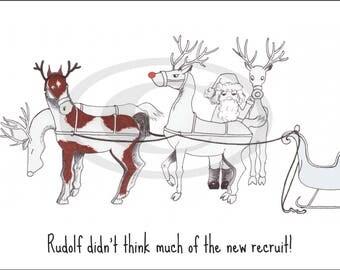 Hand drawn Christmas card