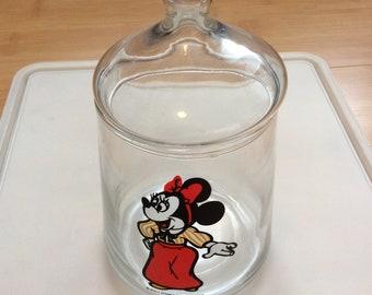 Vintage Minnie Mouse jar