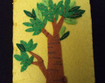 Needle Book with Tree