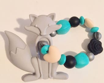 Grey Fox Teether