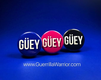 GUEY! (1.25 inch pin-back button)