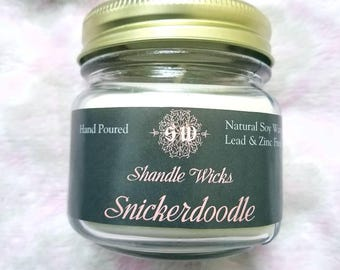 Snickerdoodle 8 oz soy candle