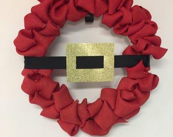 Santa's Belt Wreath