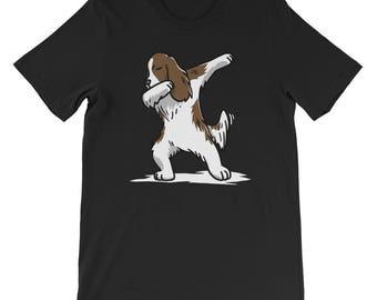 Cute Dabbing English Springer T-Shirt Funny Dog Gift