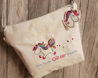 Handbag Unicorn glitter