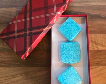 Mens bath bomb gift set
