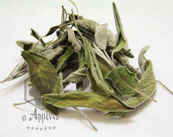 Greek naturally dried organic Sage, Salvia, natural deodorant herb 30gr.