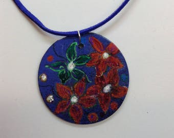 Hand painted Necklace 9