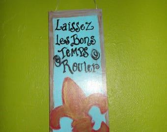 Fleur De Lis Hanging Wall Art