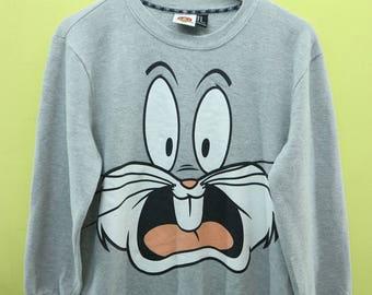 Vintage Looney Tunes Sweatshirt Cartoon Sweater