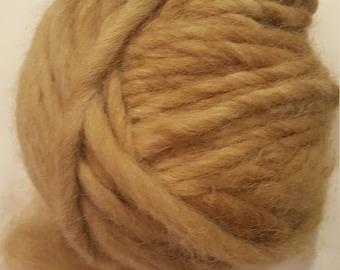 Jumbo pure alpaca yarn