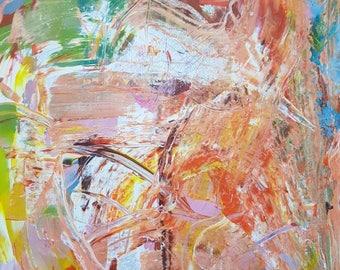 Mixed Media . Acrylic on Canvas