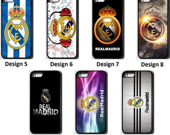Real Madrid FC iPhone 5 5C SE 6 7 8 PLUS X Case Cover