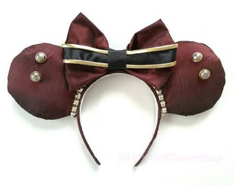 Mouse ears Hollywood Tower Hotel bellhop - Tower of terror valet mouse ears