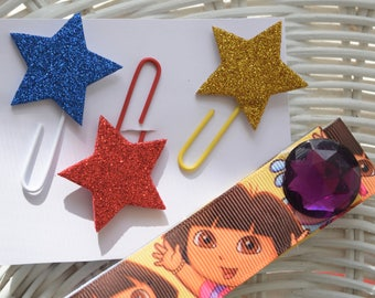 DIY/Paper clips,/Crafty bookmark/star paper clips/