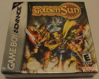 Golden Sun Brand New Factory Sealed (Nintendo Gameboy Advance, 2001)