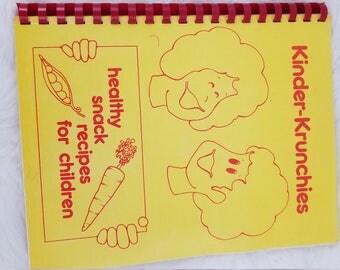 Vintage Kinder Krunchies Healthy Snack Recipes for Children