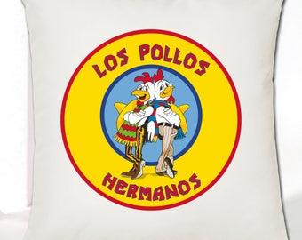 Breaking Bad Cushion Cover - Los Pollos Hermanos • Great Gift