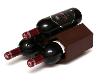 Wine Rack Wood / Honeycomb Wine Rack / Bottle Holder / Wine StandWine  Collection Rack /