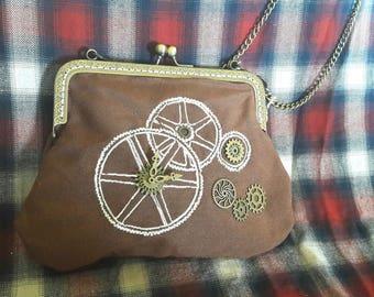 Trendy Steampunk pouch
