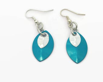 Duo Scale Earrings