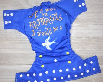 If I Were an Animagus I would be a (Fill in the Blank) Cloth Diaper Cover