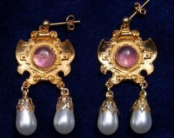 Spanish Dragon Earrings.