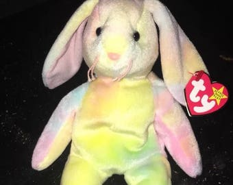 "Very Rare 1998 ""Hippie"" Beanie Baby With Many Errors"