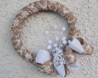 Unique handmade Christmas Wreath