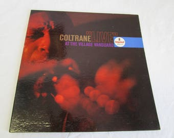 "John Coltrane / ""LIVE"" at the Village Vanguard / Gatefold / Vinyl LP / Impulse / Mono A-10"