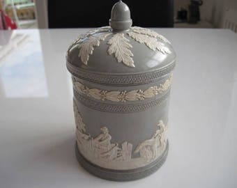 Copeland Tobacco Jar c. 1891 – 1902
