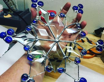 Stained Glass Snowflake (Design 1)