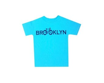 Brooklyn Bike Toddlers Tshirt
