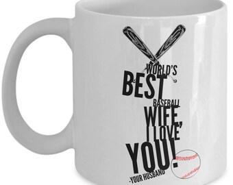WORLD'S BEST Baseball Wife! Coffee Mug
