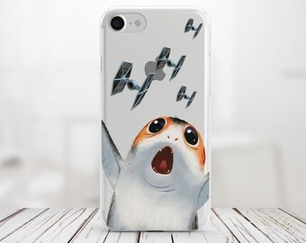 Star Wars Porg Iphone 8 Plus Case Iphone X Case Iphone 7 Plus Case Iphone 8 Case Iphone 7 Case Silicone Case Iphone Case Iphone 6 Plus Case