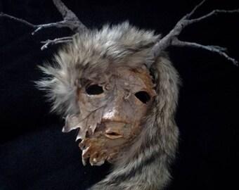 Deer woman mask