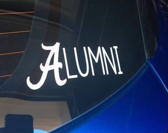 Alabama Alumni Decal