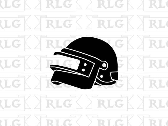 Playerunknown S Battlegrounds Vinyl Decal Car Window: PUBG Level 3 Helmet Decal