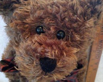 Jackson R Bearington. Mohair Bear by Boyds