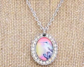 Hummingbird Shimmer Necklace