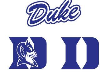 Duke Blue Devils Svg, Dxf, Eps, Png-College Svg Files, Basketball Team Graphic, Duke Blue Devils Logo,SVG File, Instant Download