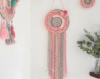 Circular weaving dream in April
