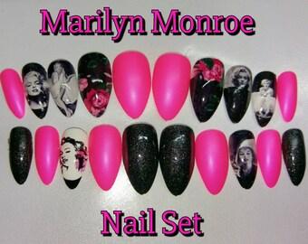 Marilyn Monroe Nail Set