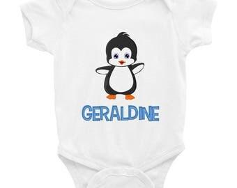 Geraldine Penguin Infant Bodysuit