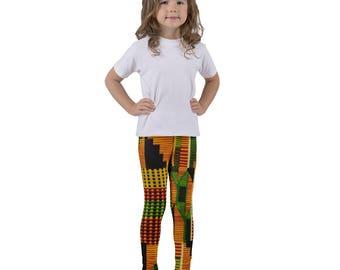 Kente III Kid's leggings