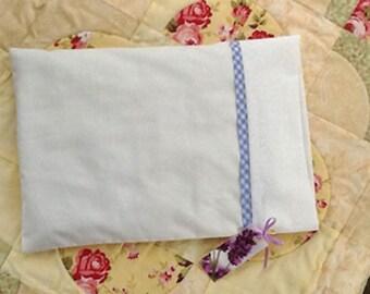 Lavender Buckwheat Pillow - small