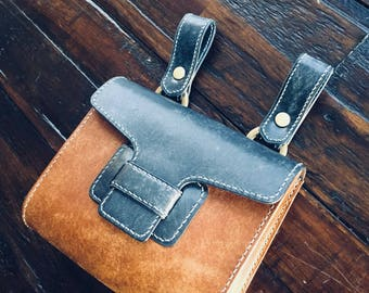 Handmade Badalassi waist pouch