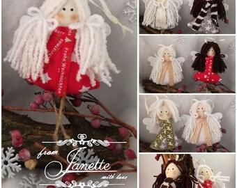 Angel decor/Christmas Angel/Christmas Ornament
