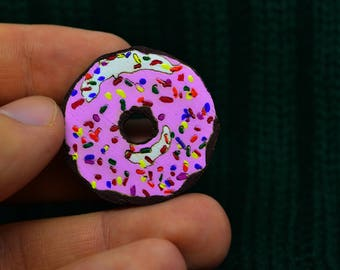 Pink Donut badges
