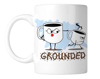 Grounded Coffee Pun 11 oz. Coffee Mug